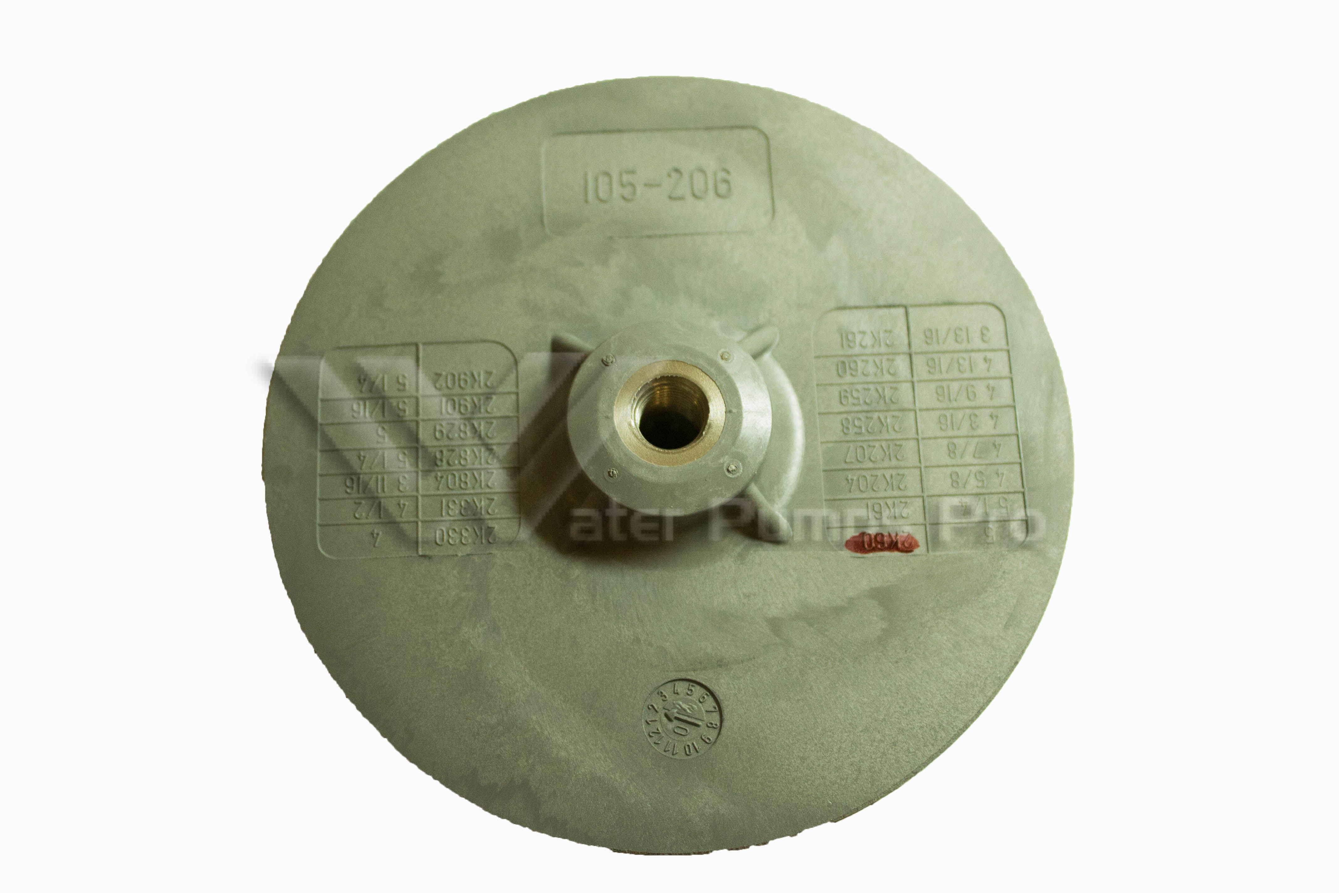 2K60 - Impeller - J+ for use on J7, J7S