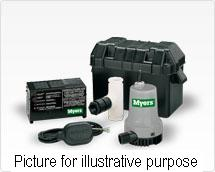 Myers MBSP Battery Operated Back-up Sump Pump System