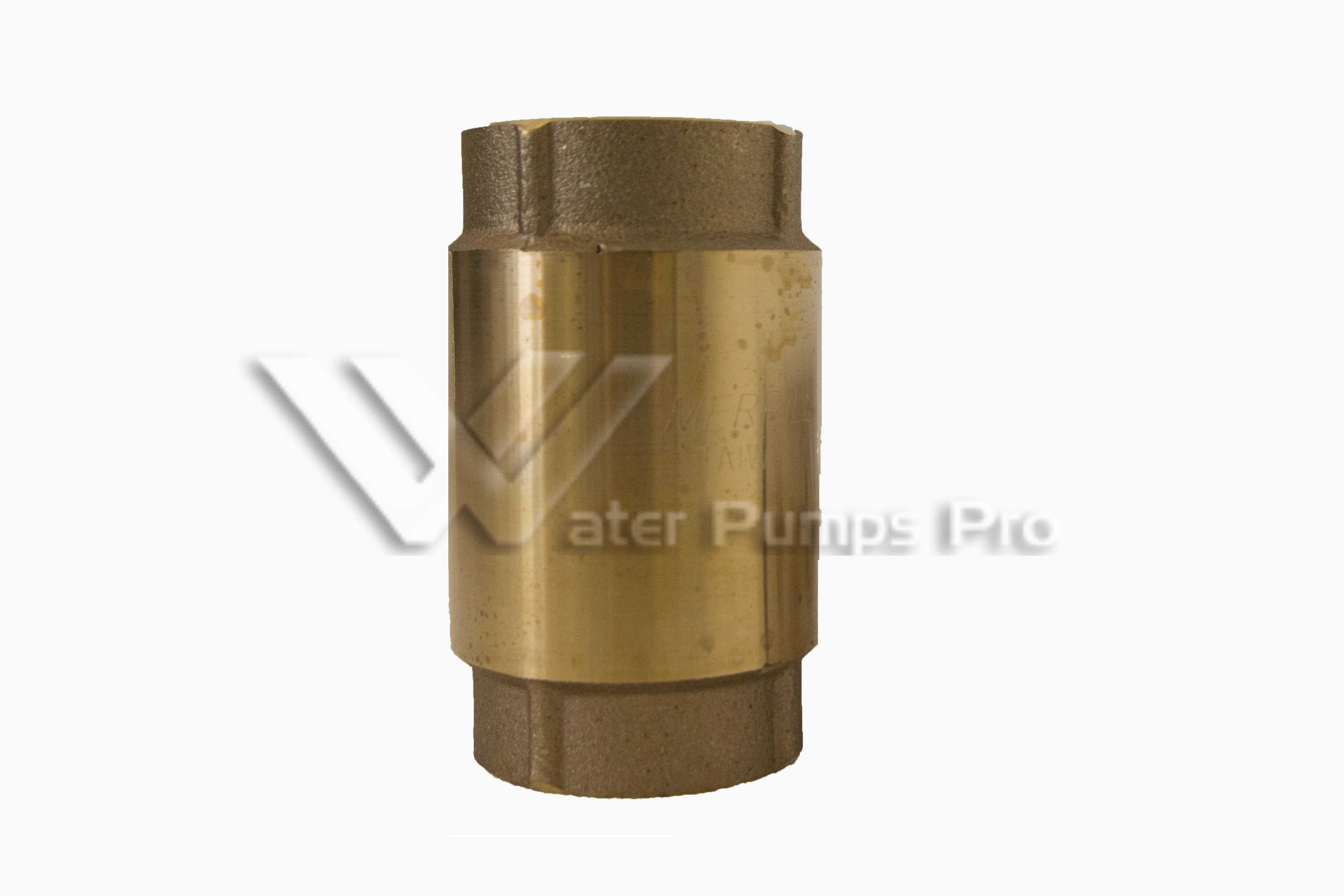 "Merrill CVNL150 1-1/2"" No Lead Brass Check Valve"
