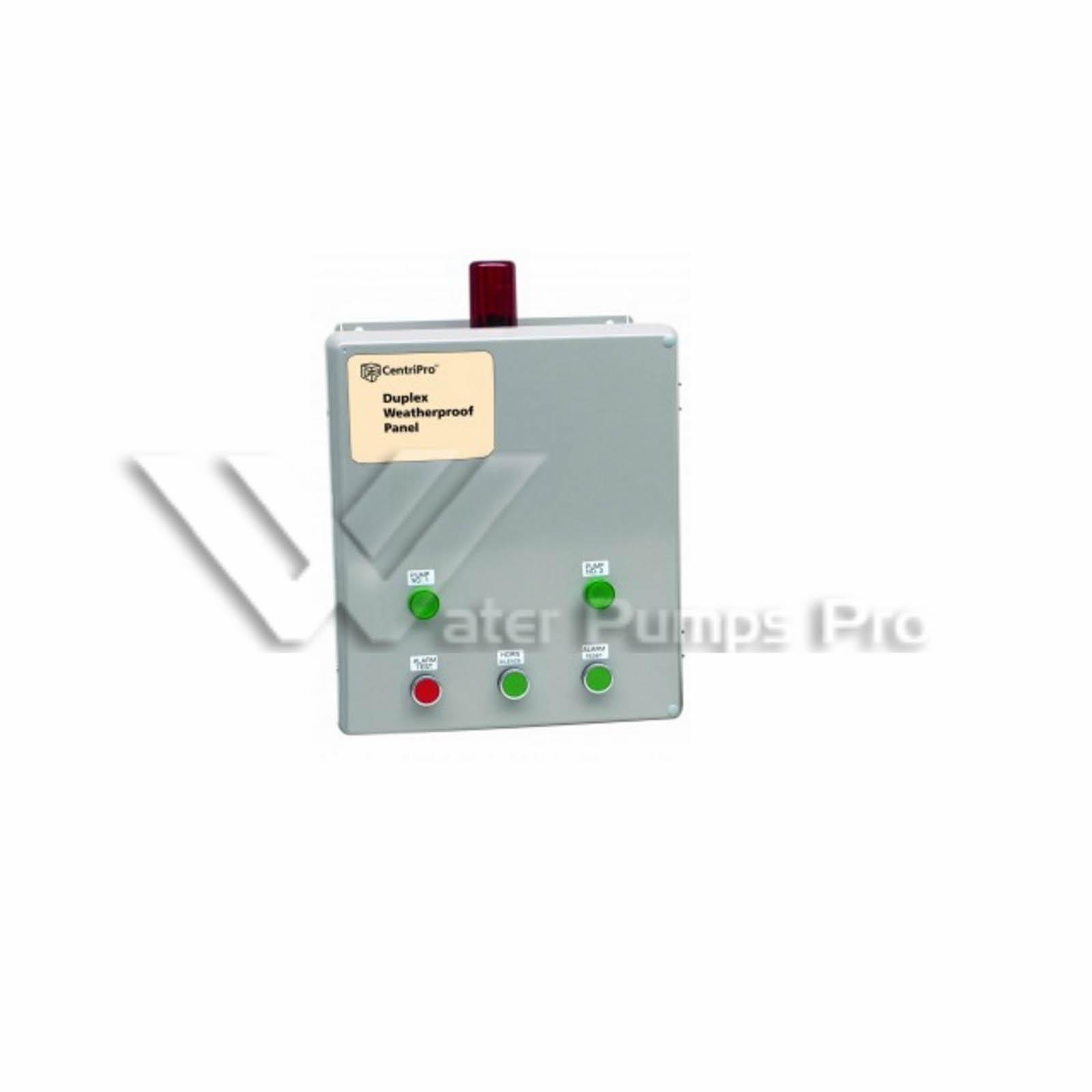 Goulds D10020, SES DUPLEX Control Panels, 1 PH, 20 max
