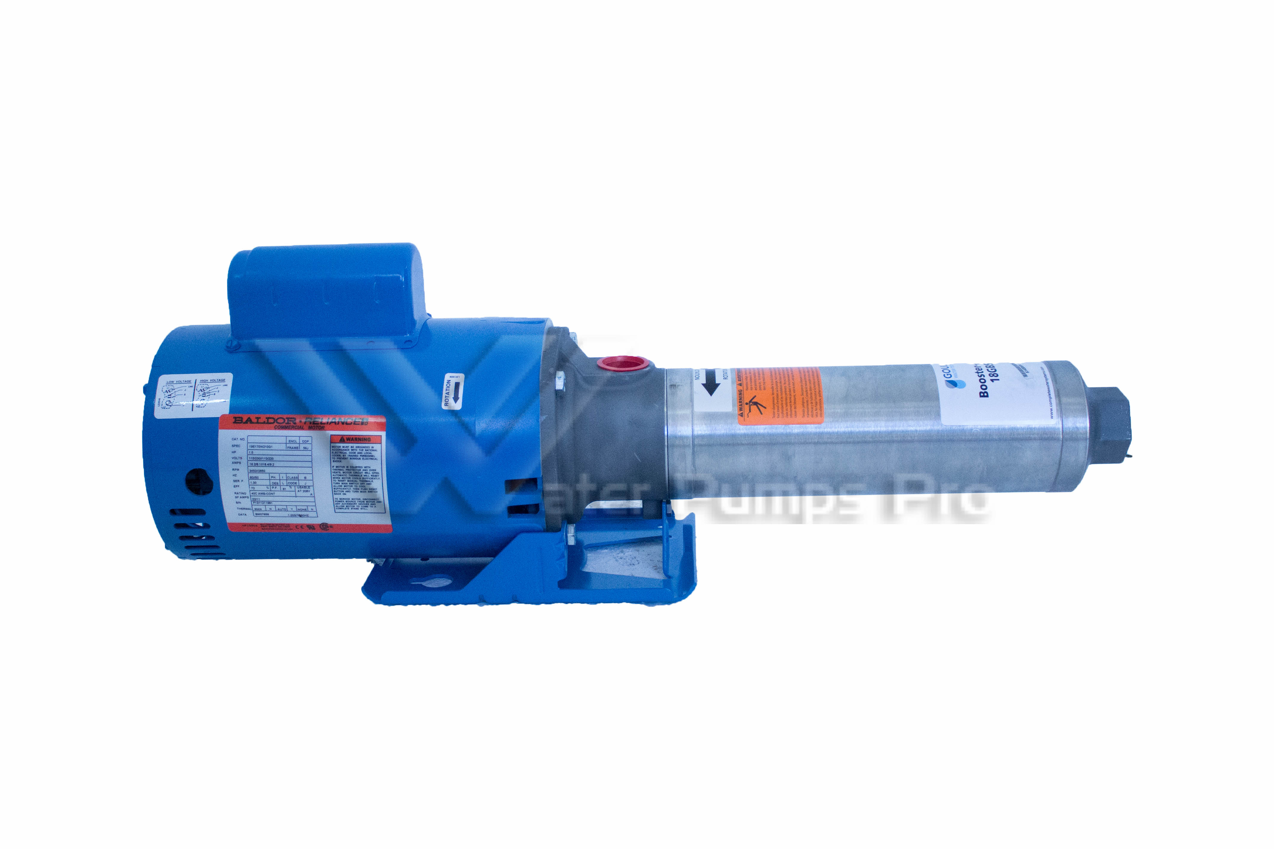 Goulds 5GBS10 Multi-Stage High Pressure Pump 1HP [5GBS10