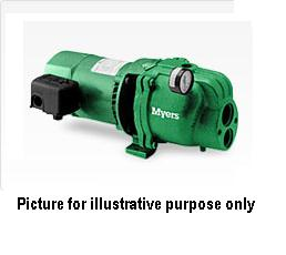 Myers HCM150 - Convertible two stage pumps 1-1/2 HP 115/230 V