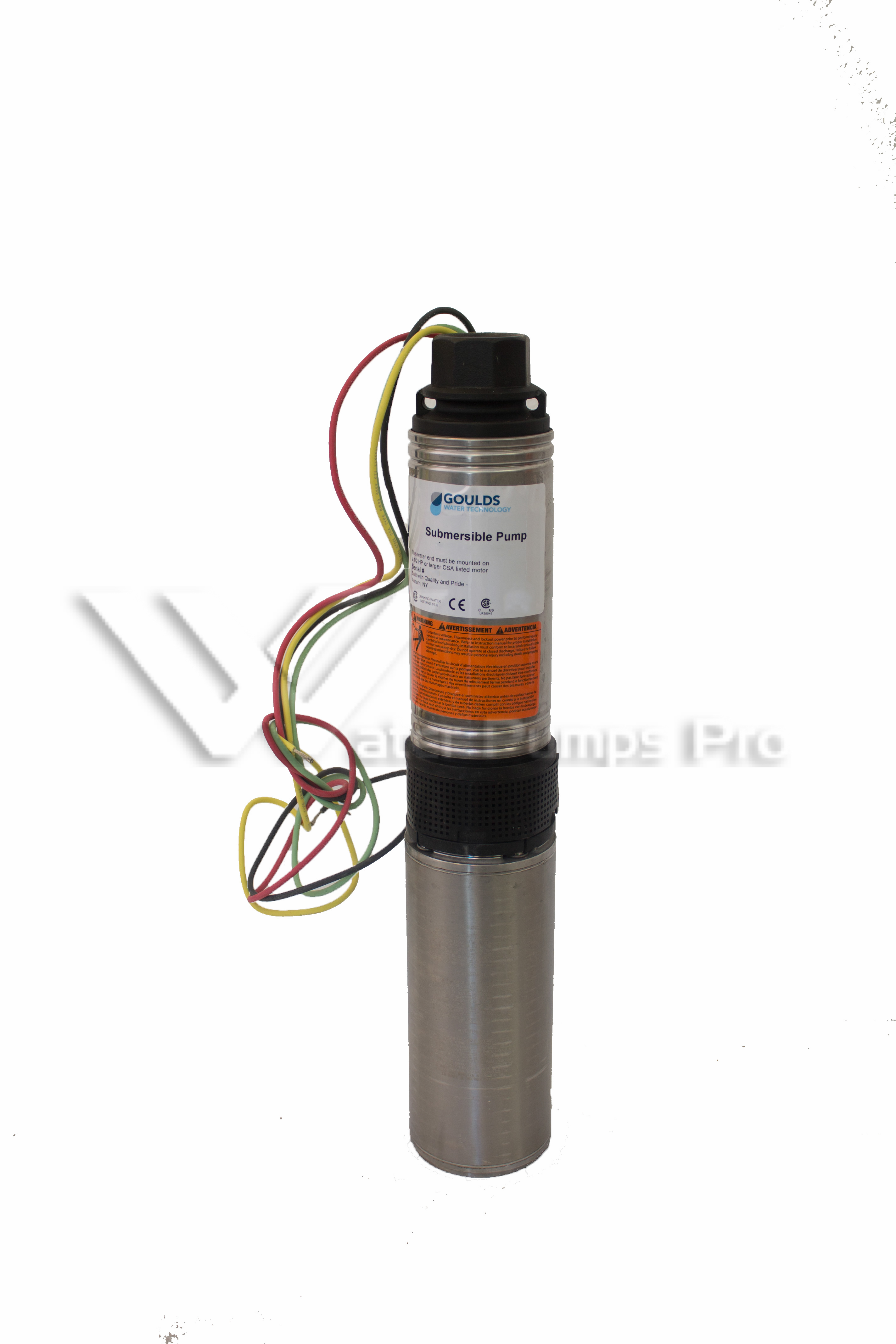 Goulds 10HS10412CL Submersible Water Well Pump 1HP 230V 3Wire
