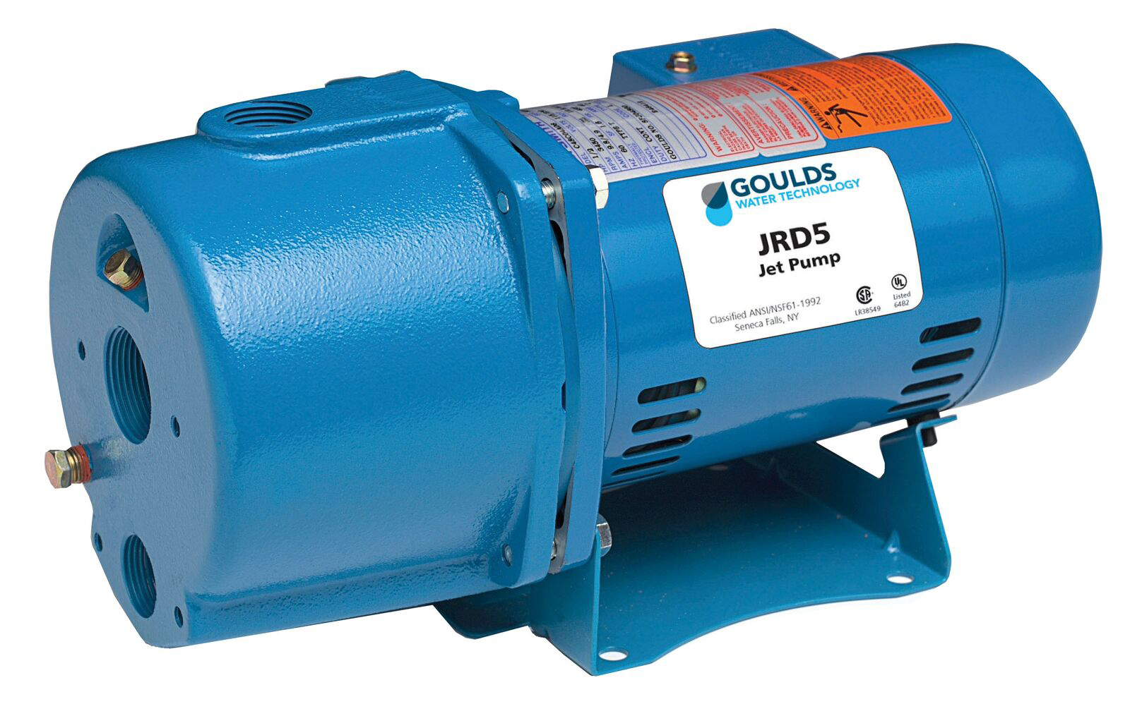 Goulds JRD7 3/4HP Convertible Water Well Jet Pump Single Phase