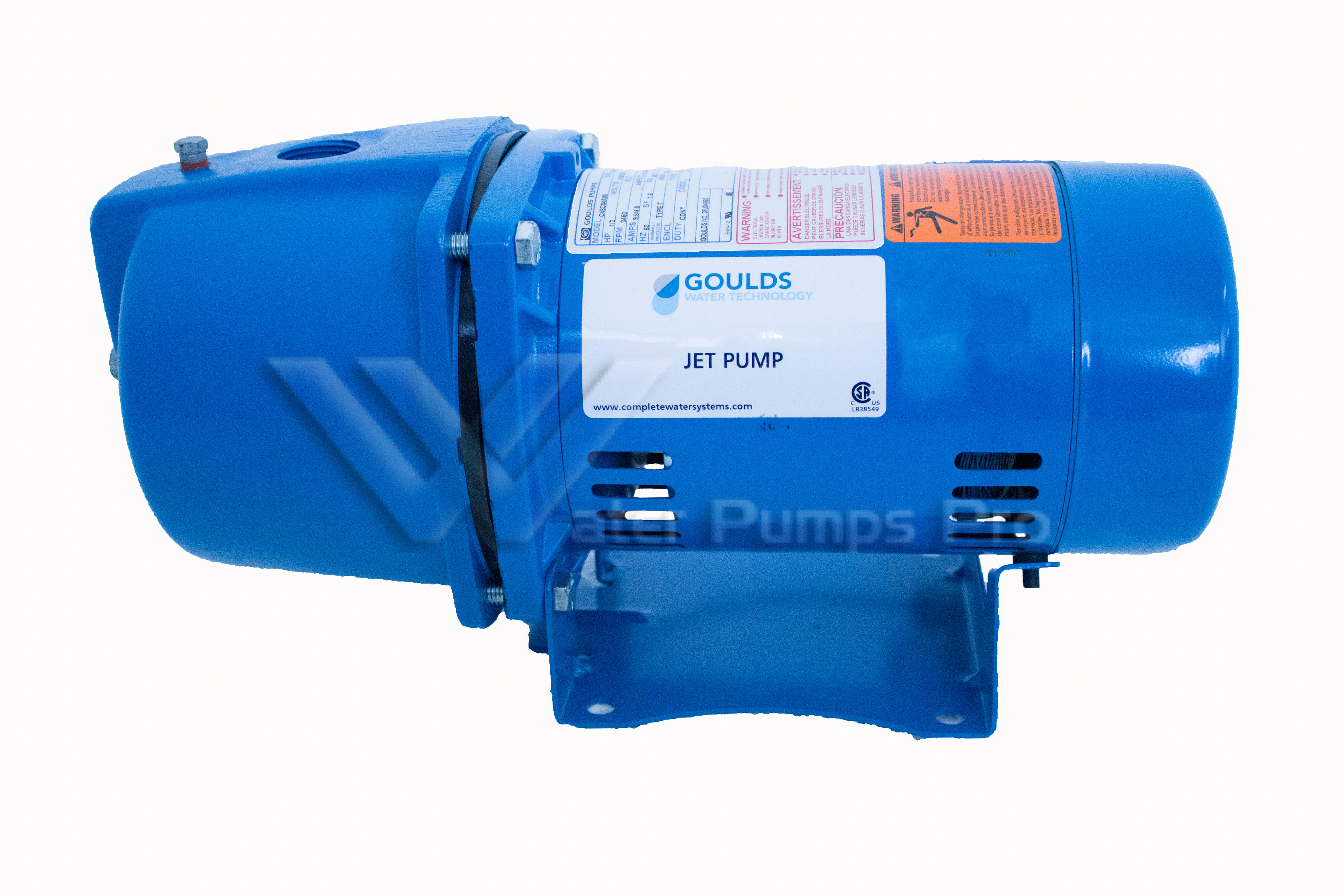 Goulds JRS7 3/4 HP Shallow Water Well Jet Pump 115/230V 1 Phase