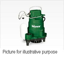Myers MCI033 20 MCI Series Cast Iron Sub Sump Pumps