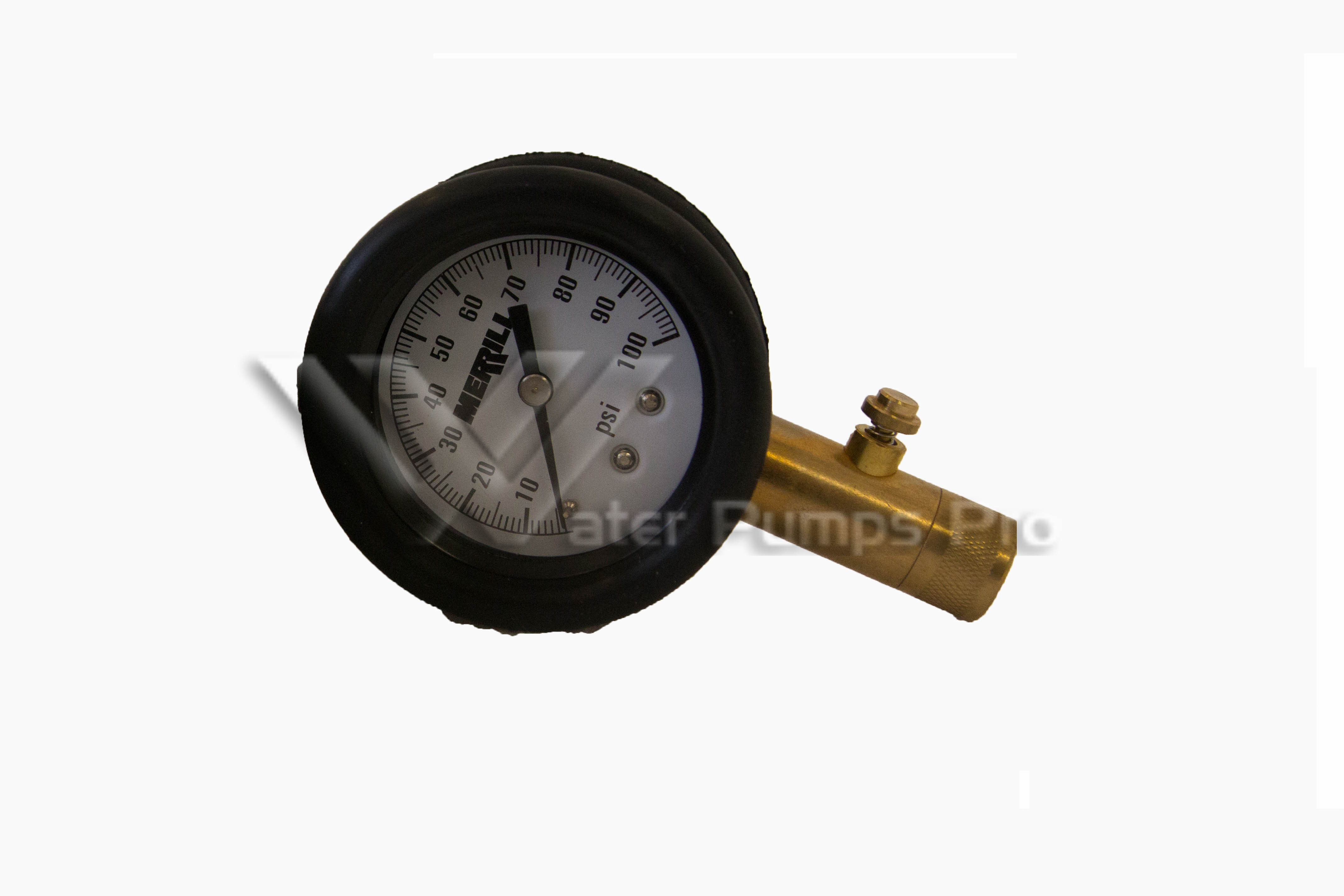 Merrill PGAT100 Air Test Gauge 0-100 psi