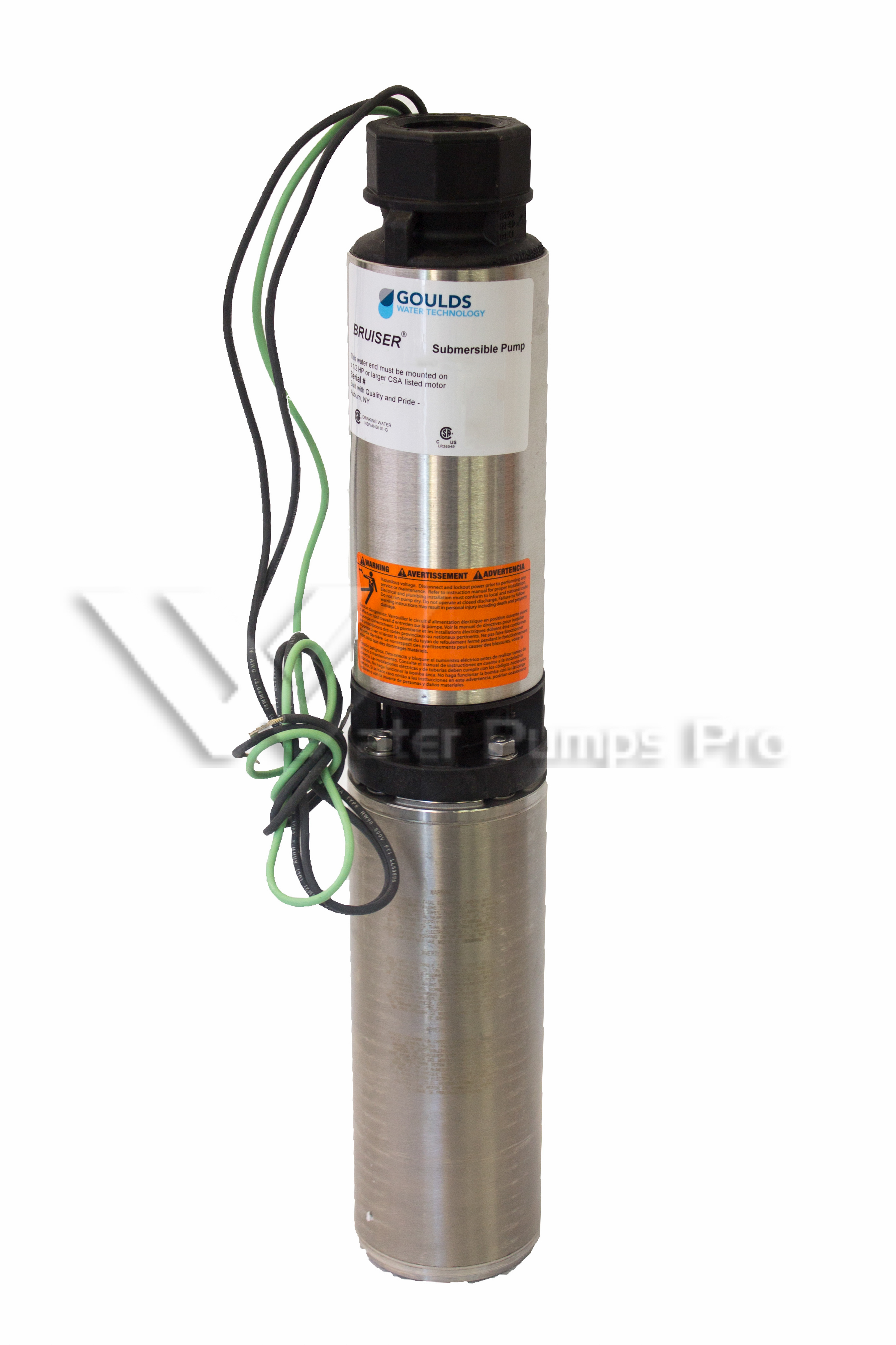 Goulds 10SB07422C 10GMP 3/4HP 230V Submersible Water Well Pump