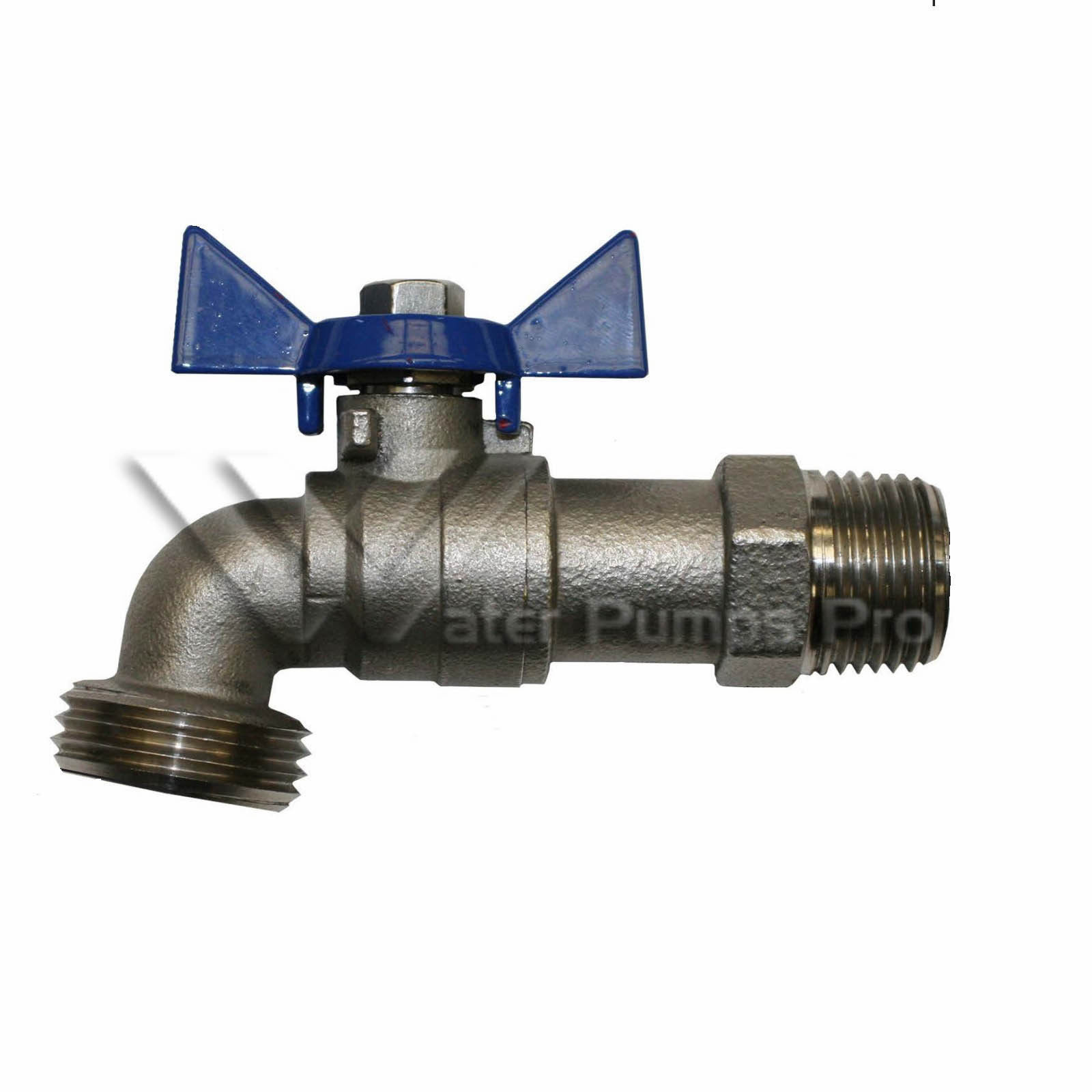 "Merrill SSBD75 3/4"" Stainless Steel Boiler Drain with Hose Bibb"