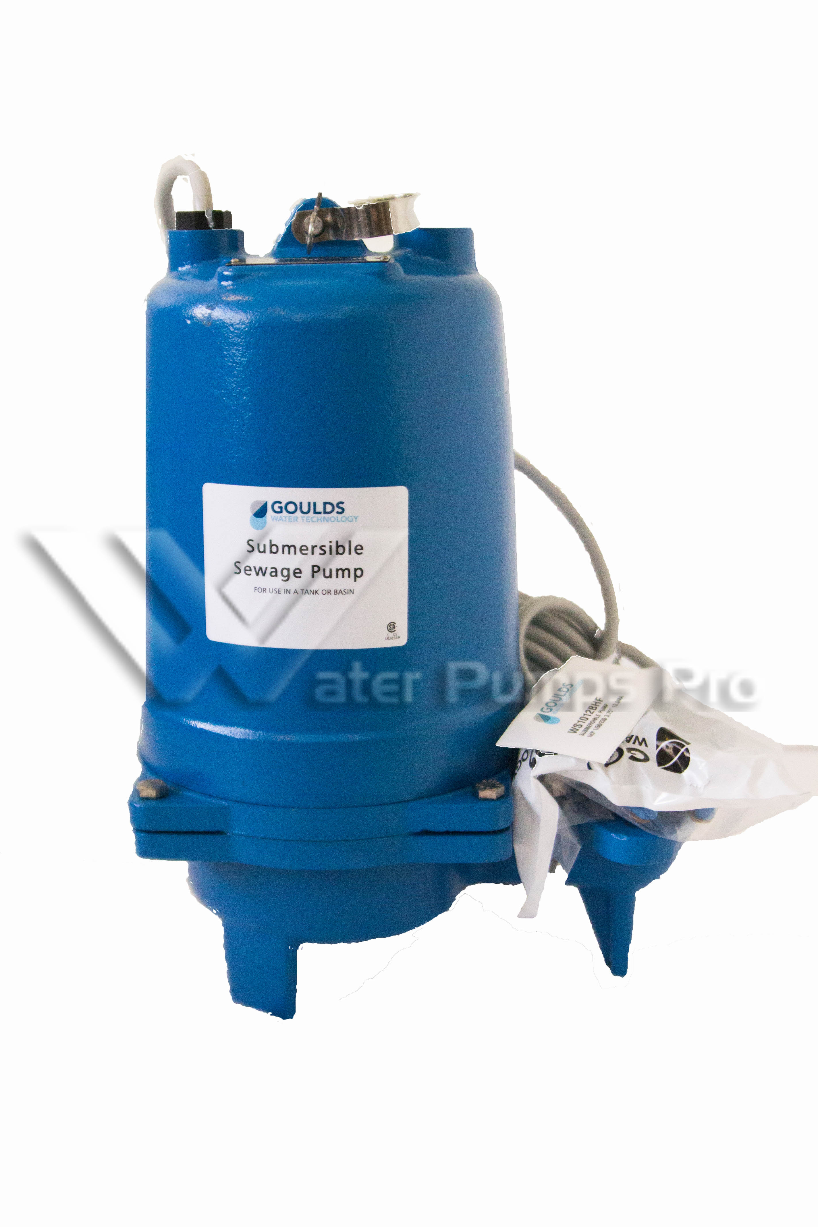 Goulds WS0511B Submersiblle Sewage Pump 3886 1/2HP 115V 1 Phase