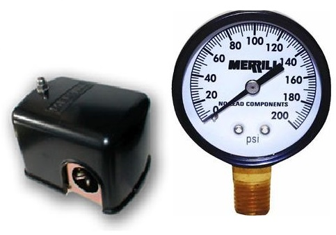 Pressure Switches and Gauges