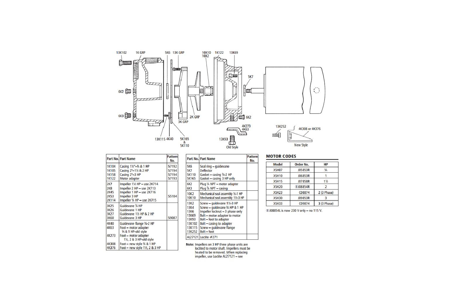 goulds shallow well jet pump diagram