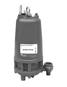 Goulds 1GD51G1AA Submersible Grinder Pump 2 HP 1 Phase 230V