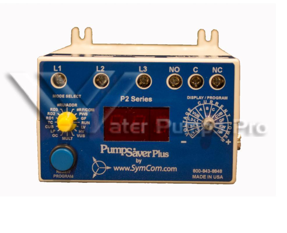 777KWHP Pump Saver Plus by SymCom 3 Phase